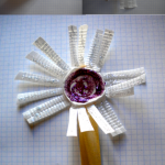 Flor reciclada