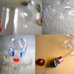 Móvil bebés reciclado