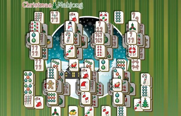 Mahjong Navidad